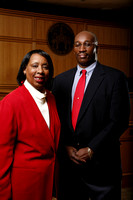 Professor Dorothea Beane and Darryl Wilson co directors Caribbean Law Institute